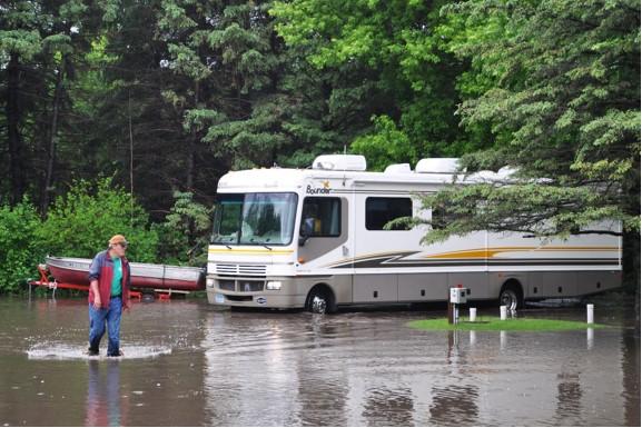 Flood at Rally